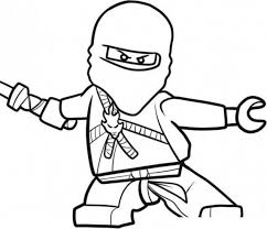 Free Coloring Pages For Boys Lego Ninjago