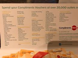 100 John Lewis Hotels 100 Compliments Vouchers