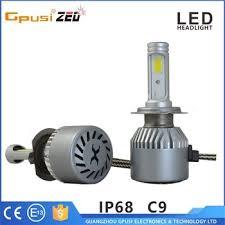 c9 car h1 turbo fan led headlight h7 36w car led bulb 72w car