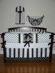 White And Black Bedding by Cute Picture Of Black And White Baby Nursery Room Design And