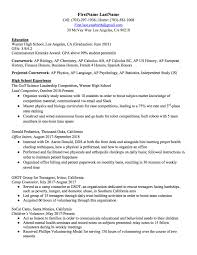 High School Resume: How To Write The Best One (Templates ... Resume Examples Career Internship Services Umn Duluth Terrible Resume For A Midlevel Employee Business Insider Should You Put Your Gpa On 68 How To List Jribescom Cumulative Heres Write An Plus Sample Account Manager Writing Tips Genius Write College Student With Examples Front Desk Cover Letter Example Deans On Overview Proscons Of