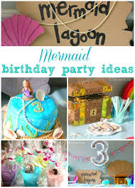Cake Decoration Ideas With Gems by Mermaid Birthday Party Ideas The Imagination Tree