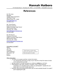 100 How To List References In A Resume Sample Of For A Sample