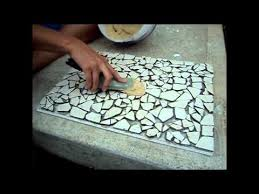 how to create a mosaic tile