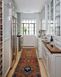 New Above A Classic Work Triangle From Anne And Richard Us Galley Shaped Manhattan Kitchen