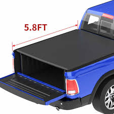 100 Truck Bed Covers Roll Up Tyger T1 Tonneau Cover Installation Back