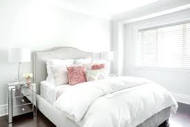 Amazing Light Pink Bedding Gray Headboard With Pink Flower