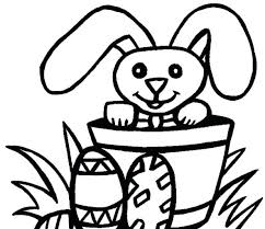 Coloring Page Easter Basket With Eggs Crayola Pages Bunny Of Small Free Printable Kids