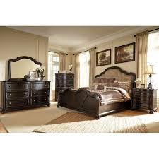 Beds amusing upholstered headboard bedroom sets Upholstered King