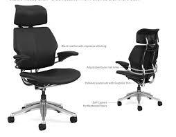 humanscale freedom headrest duron gel arm studio ready chair
