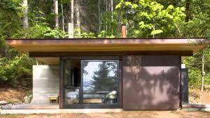 100 Minimalist Cabins Olson Kundigs SingleRoom Gulf Islands Cabin Is A