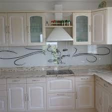 credence cuisine en verre photo de credence pour cuisine jet set