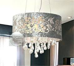 Large Lamp Shades Target by Chandeliers Chandelier With Lamp Shade Crystal Chandelier With