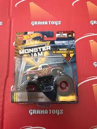 100 Monster Jam Toy Truck Videos Wonder Woman 615 Epic Additions 2018 Hot Wheels Case E