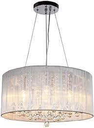 maxmer 40w kristall pendelleuchte hängend deckenleuchte luxuriöse moderne hängele kristallkronleuchter 4 e14 für wohnzimmer esszimmer schlafzimmer