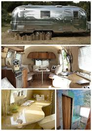 1967 Airstream Trade Wind Silver Trailer Interior By Kristiana Spaulding I Love My Camper But Would Really To Re Create A Retro One Like This Dream
