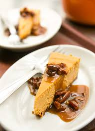 Pumpkin Praline Pie Cooks Illustrated by Pumpkin Cheesecake With Pecan Praline Sauce