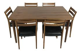 6 Chair Walnut Dining Set By Svegards Simmons Upholstery 500959 Heirloom Fniture Black Walnut Ding Table Bentley Designs Lyon Extending Table 6 Oiive Grey Leather Chairs Costco Uk Royce Set B 14 Camel Group Nostalgia Round Extension Starburst Dark Tables Custmadecom And Chairs Chair By Svegards Of America Argos Ava With 4 In Bucksburn Aberdeen Gumtree To Solid Jupe Hidden Leaves