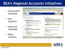 Bea National Economic Accounts Bureau Of Ppt Bea S Regional Economic Accounts Powerpoint Presentation Id