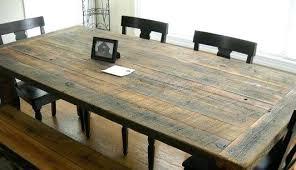 Creative Dining Table Building Plans Minimalist Farmhouse