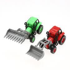 100 Mini Truck Scene Simulated Farm Play Toy Set Cow Farmer Kids Pretend Role