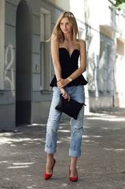 street style black heels jeans fashion photography my style