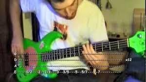 The Smashing Pumpkins Drown Tab by Quiet Bass Tab Smashing Pumpkins Youtube