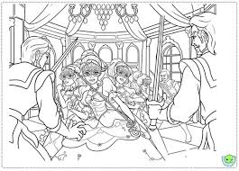 Barbie And Three Musketeers Coloring Pages Surrounded By Villains Bulk Color