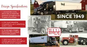 100 Heyl Truck Lines 70 Year Anniversary By Sarah Schreiner At Coroflotcom