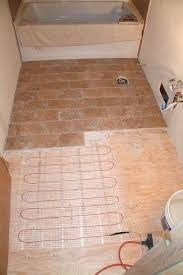 radiant floor tiles this infrared carbon electric heating system