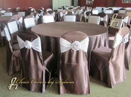 Chair Covers By Sylwia Inc by Chicago Chair Covers For Rental In Chocolate In The Lamour Satin