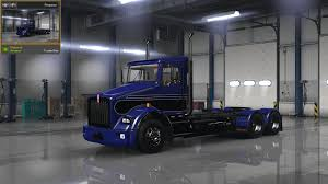 100 Kw Truck Kenworth T800 Classic V1 Skin ATS Mods American Truck Simulator