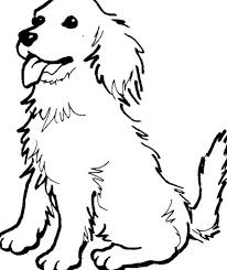 Line Drawings Dog Printable Coloring Pages New At Photography