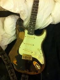 Fender John Mayer Black One Relic FS