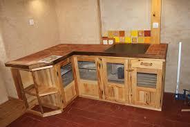 meuble cuisine palette meuble de cuisine en palette meuble de cuisine mini bar en bois