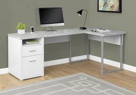 Wayfair Corner Desk White by Latitude Run Darcio L Shape Corner Desk U0026 Reviews Wayfair