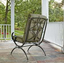 Kmart Jaclyn Smith Patio Furniture by Jaclyn Smith Cora Single Dining Chair Green Outdoor Living Patio