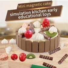 kinder pre bildung kuchen spielzeug logic lernen lustige blöcke spielzeug weihnachten geschenk für baby spielen spaß mit kleine kinder kuchen