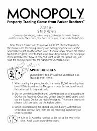 Hasbro Games Monopoly User Guide