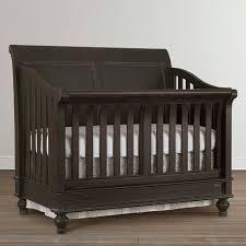 4 in 1 Convertible Baby Crib Oak Finish
