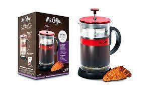 Mr Coffee K Cup Red Maker Max Brew Press