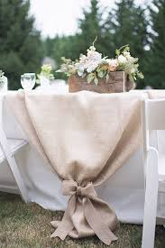 Pretty Way To Do The Head Table Cloth 10 Country Chic And Rustic Wedding Tablescapes