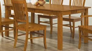 100621 Mission Style Dining Table