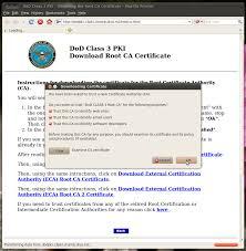 Dts Help Desk Number Air Force by Dod Cac Setup For Ubuntu 10 4 Lts Linux 32 Bit X86
