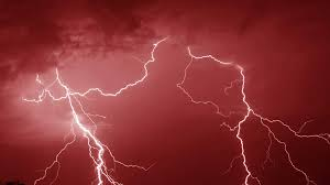 Lightning Storm Red