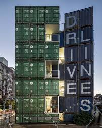 100 Living In Container Stacked Shipping S Create A New Model For Urban