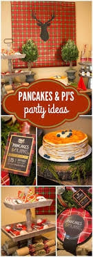 Christmas Holiday Pancakes Pajamas Work Party IdeasHoliday