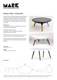 Shaper Dining Table