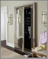 Mirrored Jewelry Box Armoire by Furniture Floor Mirror With Jewelry Storage Belham Living Swivel