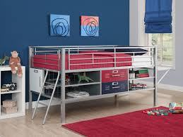 Kmart Trundle Bed by Dorel Home Furnishings Junior Twin Silver Bed With Locker Multiple